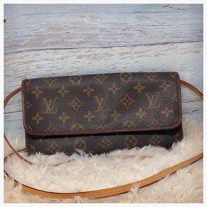 Authentic Louis Vuitton Twin Pochette Crossbody